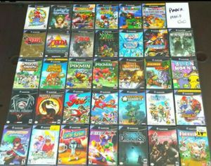TONS Of Nintendo GAMECUBE Games For $$$ (READ DESCRIPTION PPL) for Sale in Riverside, CA
