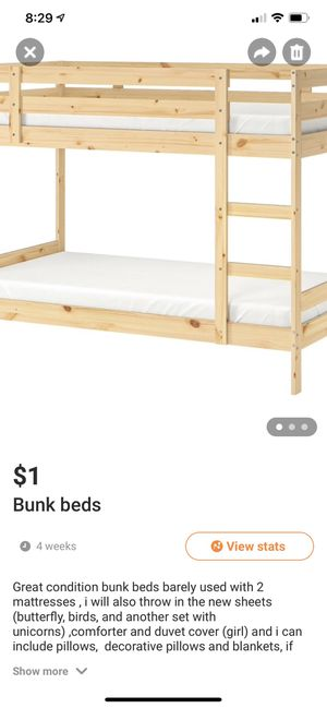 Bunk beds for Sale in Daly City, CA