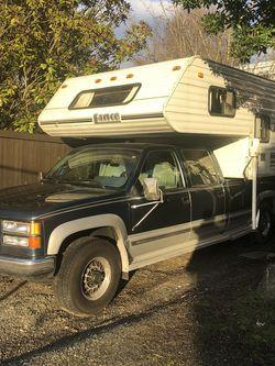 Truck+Camper 94GMC+2000Lance for Sale in Seattle,  WA