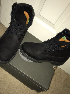 All Black Timberlands for Sale in Wendell, NC