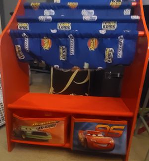 Cars 🚗 kids storage and desk for Sale in Las Vegas, NV