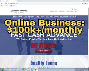 Online Business - Financial Loan Agency for Sale in Miramar, FL