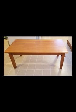 Wood Table Living Room Furniture Coffee Table Stand for Sale in Southborough,  MA