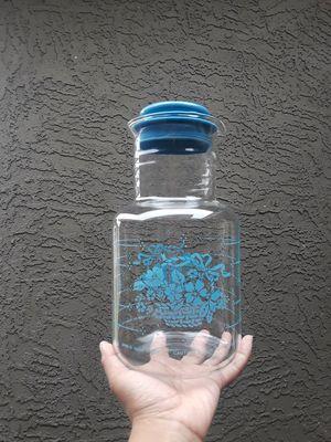 Pyrex Glass 2 Liter Blue Pyrex Pitcher for Sale in Phoenix, AZ