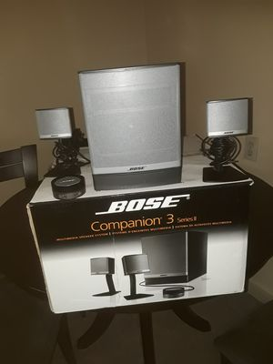Bose Companion 3 series ll for Sale in National City, CA