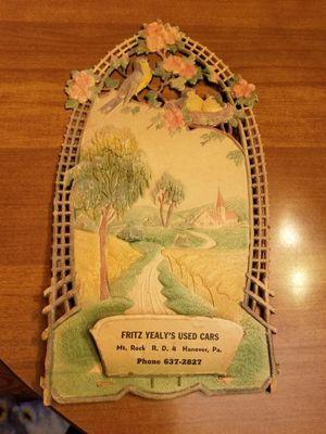 Fritz Advertising for Sale in Zion Crossroads, VA