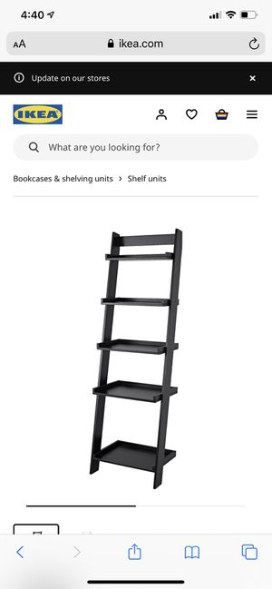 IKEA shelf ladder for Sale in Los Angeles, CA