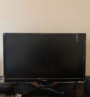 Acer GN246HL Bbid 24-Inch Full HD (1920 x1080) Widescreen 3D Gaming Monitor|144Hz Refresh for Sale in Williamsburg, VA