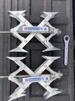 X Block Trailer Stabilizer- Chocks for Sale in Morgan Hill,  CA