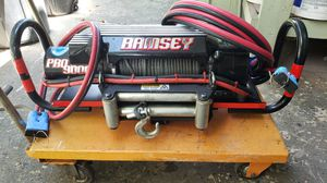 Reduced!Ramsey Pro 9000 winch for Sale in Tampa, FL