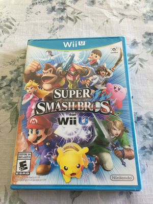 Super Smash Bros. For Nintendo Wii U new & sealed for Sale in San Diego, CA