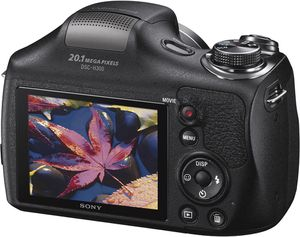 Sony Cyber-shot DSC-H300 20.1MP Digital Camera - Black With Pro Camera Bag for Sale in Orlando, FL