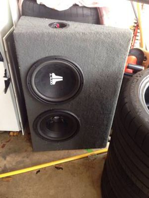 12 inch JL Audio Subs for Sale in Ashburn, VA