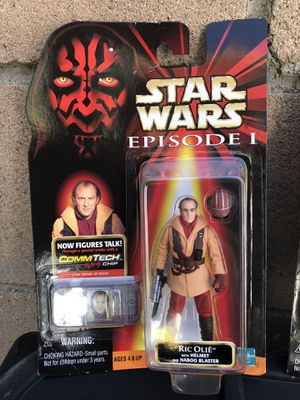 Hasbro 1998 Star Wars Episode 1/I Phantom Menace Ric Olie Action Figure Collection 2 for Sale in Beverly Hills, CA