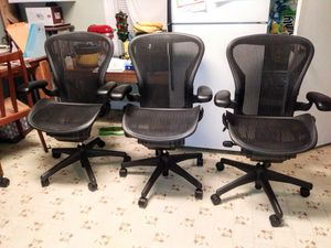 Herman Miller Aeron B office chair for Sale in South Attleboro, MA