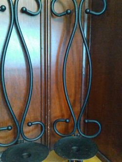 """21""""wall Candle Holders Sconces. Needs A Little Repaint. for Sale in Fort Worth,  TX"""