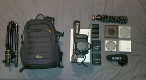 Canon 6D, lens and more for Sale in Columbus, OH