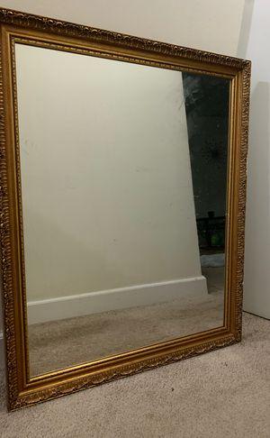 vintage antique mirror 27.5 x 29 in for Sale in Alexandria, VA