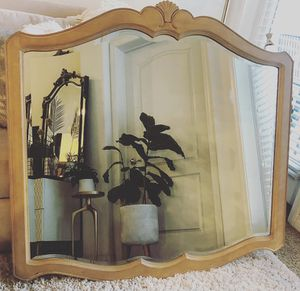 Vintage Hand Carved Solid Wood Mirror ✨ for Sale in San Diego, CA