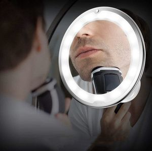 New Style LED Amplifier Makeup Mirror 5X10X Gooseneck Sucker Bathroom Mirror MY Flexible Mirror for Sale in Alexandria, LA