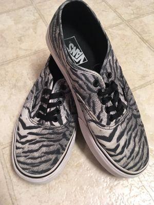 Authentic Vans Zebra Shoes for Sale in Harrisonburg, VA