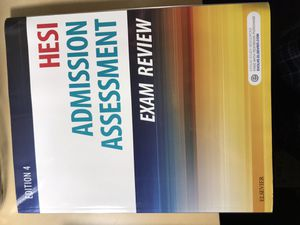 HESI Admission Assessment Exam Review Book for Sale in Tucson, AZ