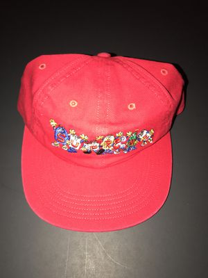 SUPREME FRIENDS 6 PANEL CAP NEW HAT RED for Sale in Alexandria, VA