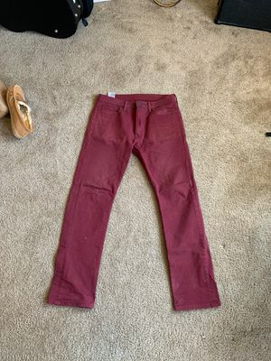 Levi's 513 36x 34 men's jeans for Sale in Tacoma, WA