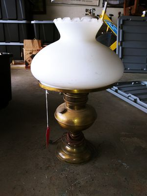 Vintage lamp hurricane Style for Sale in Riverside, CA