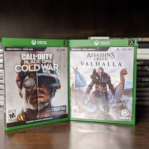 Xbox Series X Game Bundle Cold War AC Valhalla for Sale in Oceanside, CA