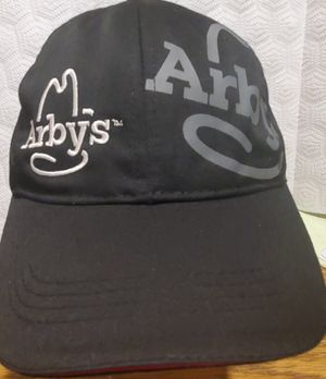Arbys, BLACK EMPLOYEE CAP ADULT UNISEX WITH BELCRO ON BACK PRE-OWNED for Sale in Lynwood, CA