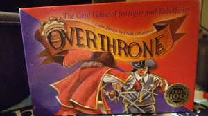 Overthrone the game for Sale in San Diego, CA