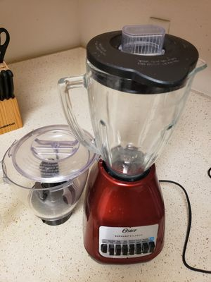 Oster blender with food processor for Sale in Austin, TX