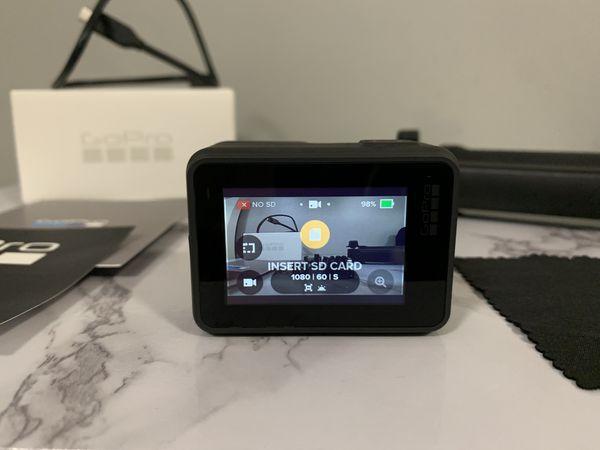 GoPro Hero7 Black with FREE 3-Way Grip Arm Tripod Bundle