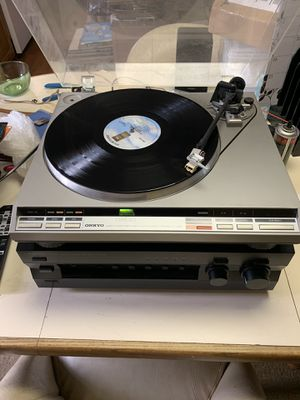 Onkyo Turntable for Sale in Aberdeen, MD