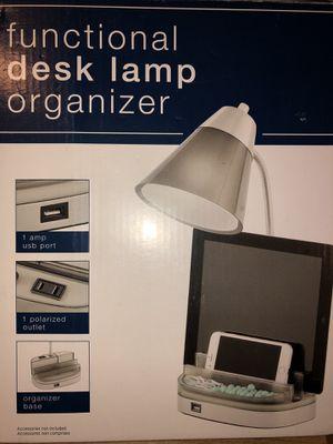 USB Desk Lamp Organizer for Sale in Newport News, VA