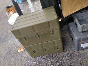 Military Aluminum Medical Chest for Sale in North Tazewell, VA