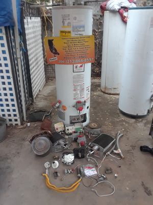 Used Water heater / parts /repair for Sale in Los Angeles, CA