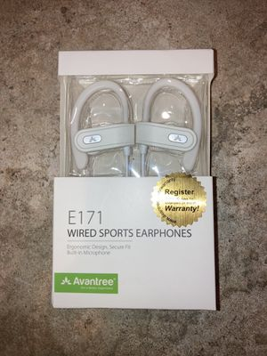 Avantree E171 Earbuds White for Sale in Costa Mesa, CA