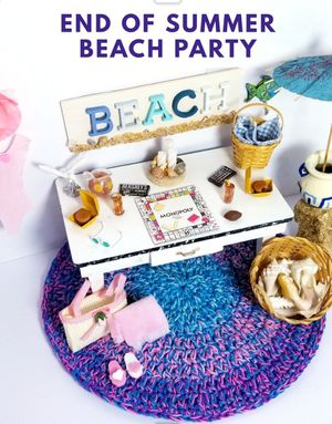 DOLLHOUSE MINIATURE BEACH & HOME COLLECTION for Sale in Rancho Santa Margarita, CA