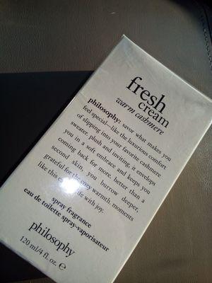 Philosophy fresh cream (Warm Cashmere) Spray Fragrance for Sale in Perris, CA