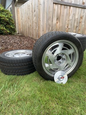1988/89 Corvette original wheels/rims with Goodyear tires for Sale in Vancouver, WA