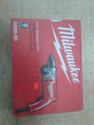 *NEW* Milwaukee Magnum 8 Amp 1/2-Inch Drill for Sale in Baltimore, MD