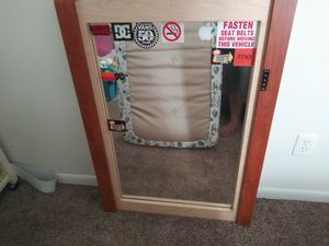 Wood frame mirror for Sale in Columbus, OH