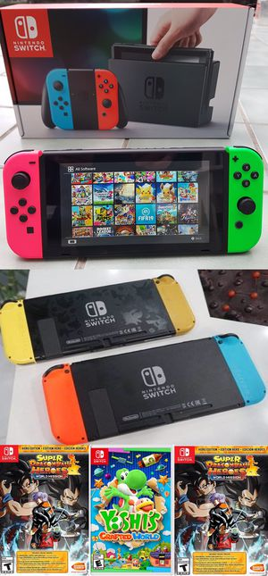 Nintendo Switch (Modded) 250 games, online mode, dual system, Retros, USB hard drive support for Sale in San Diego, CA