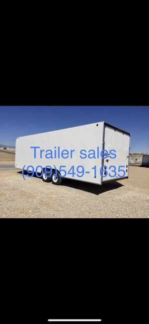 8.5x24x7 enclosed trailer $6899 for Sale in Covina, CA