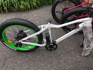 New White Fat Tire Electric Bicycle for Sale in Barnstable, MA