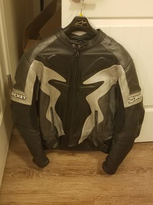 Joe Rocket leather motorcycle jacket. Size 48 XL for Sale in Atlanta, GA