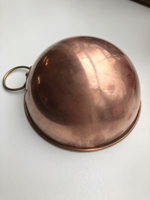 Vintage Copra copper mixing bowl (made in Portugal) for Sale in Wilton, CT