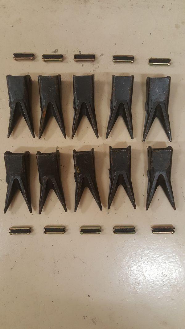 John Deere 310G Case 580M Backhoe Bucket Teeth